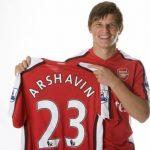 В Англии стали популярны футболки Аршавина