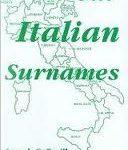 Наиболее распространённые итальянские фамилии.