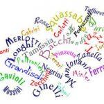 Известные итальянские фамилии